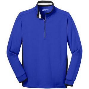 Nike Golf Dri-FIT 1/2-Zip Cover-Up-Flat Knit Collar