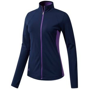 Adidas Ladies Full Zip Knit Jacket