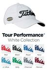 Custom Titleist Unstructured Tour Performance (White Collection)