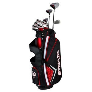 Strata Plus Men's 14 Piece Golf Club Set