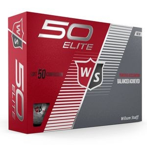 Wilson Staff 50 Elite Golf Ball