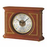 Custom Seiko QXW219B classic wooden mantel clock