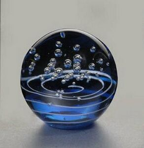 "Hydra Art Glass Award (3"" Dia.)"