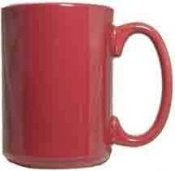 Maroon Red El Grande Mug (15 Oz.)