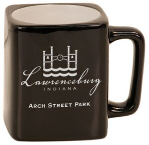8 oz. Black Ceramic Mug