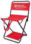 Custom Folding Chair with Optional Cooler