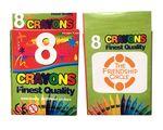 Custom 8 Pack Crayons