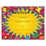 Custom Stock Award Certificates - Numbers Design