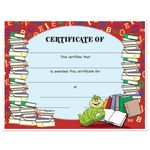 Custom Stock Award Certificates - Books Design