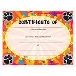 Custom Stock Award Certificates - Paws Design