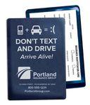 Custom Don't Text & Drive Vinyl Insurance ID Card Holder (4