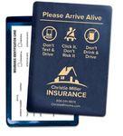 Custom Arrive Alive Vinyl Insurance ID Card Holder (4