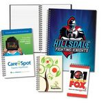 Custom Full-Color Printed Journals w/100 sheets - 8.5