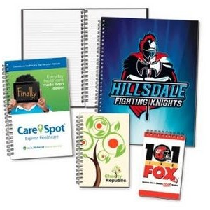 "8 1/2""x 11"" Full-Color Printed Journals w/50 sheets"