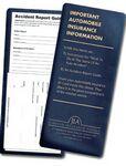 Custom Vinyl Insurance ID Card Holder w/Auto Accident Instructions (4 1/4