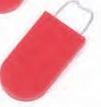 Custom Prestoseal Rugged Luggage Security Seals (Red)