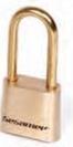 Custom 4-Dial Resettable Brass Body Padlock w/ Brass Internal Parts (2
