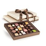 Custom Master Collection 2 Tier Belgian Chocolate Gift Tower