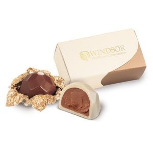 Select Series Pure 2 Piece Belgian Chocolate Gift Box