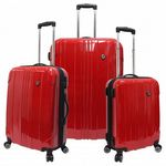 Custom Sedona 3PC 100 percent Polycarbonate Hardcase Luggage Set