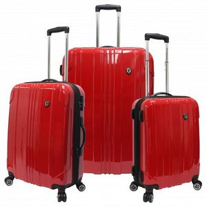 Sedona 3PC 100 percent Polycarbonate Hardcase Luggage Set