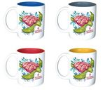Custom Classic 11 Oz. Matte White Ceramic Coffee Mug