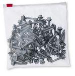 Custom Premium 3 Mil Polyethylene Slider Zip Bags (18