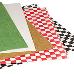 Custom FDA Compliant Red Check Waxed Tissue Paper
