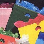 Custom 1.25 Mil Low Density Die-Cut Handle Plastic Bags - 12