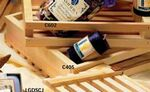 Custom Store Display Plain Wooden Gift Baskets Crates (11 1/2