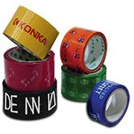 "2"" Custom Printed Poly Packing Tape (55 Yard Roll)"