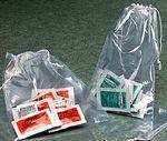 Custom Clear 2 Mil Polypropylene Double Drawstring Bags (5