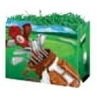 Small Golf Scene Theme Gift Basket Boxes