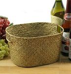 Custom Seagrass Oval Tray/ Gift Basket