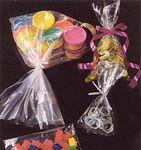 Custom Gusseted 1 Mil Polyethylene Plastic Bags (5