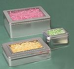 Custom Windowed Cookie Tin (10