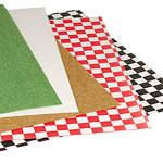 Custom FDA Compliant Black Check Waxed Tissue Paper