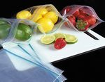 Custom 1.15 Mil ColorZip Refrigerator & Freezer Bags (6 1/2