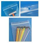 Custom 2 Mil Polypropylene Slide Seal Bags w/ Hang Hole (4