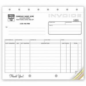 Classic Collection™ Small Shipping Invoice Form (5 Part)