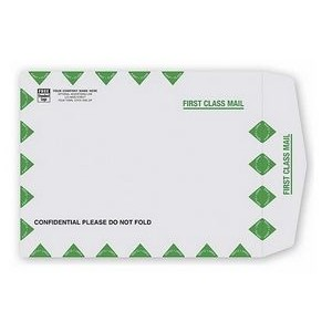 First Class Mail Gray Kraft Mailing Envelope (Open Top)