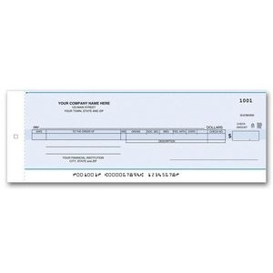 One-Write® Payroll/Cash Disbursement Check (1 Part)