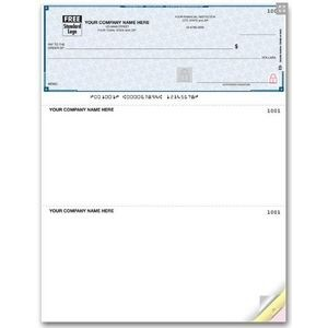 Lined High Security Multi-Purpose Laser Voucher Check (1 Part)
