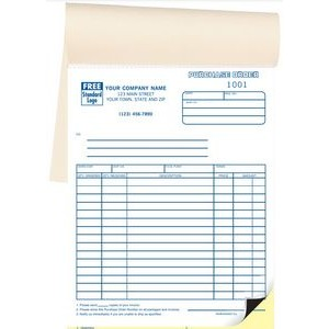 Classic Collection™ Purchase Order Book (2 Part)