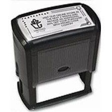 Self-Inking Coupon Stamp