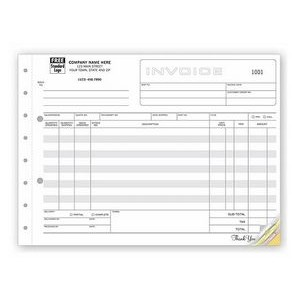 Classic Collection™ Wide-Body Invoice Form (4 Part)