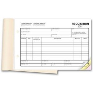 4-in-1 Requisition (3 Part)