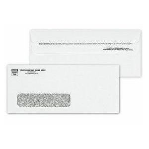 #10 Confidential Self-Seal Single-Window Security Tinted Envelope