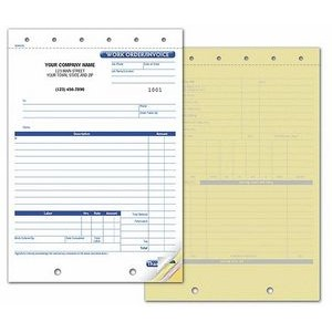 Work Order/Invoice Form (2 Part)