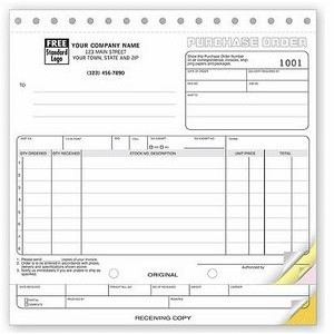 Classic Collection™ Purchase Order Form (3 Part)